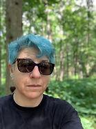 L in woods - blue hair.jpg