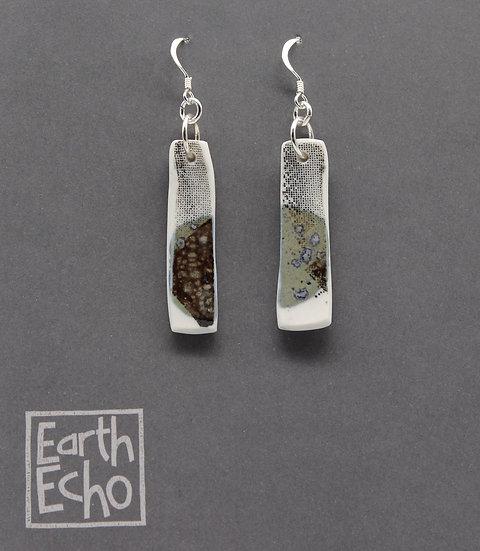 Moss Moon Earrings