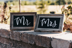 #2 Tabletop Chalkboards