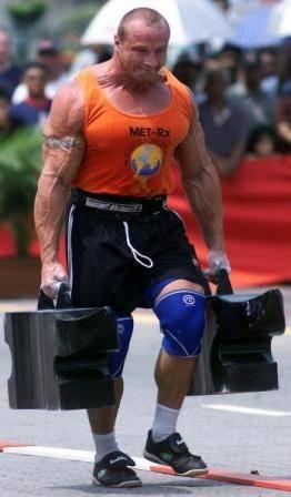 image of Mariusz Pudzianowski - 5 times world's strongest man