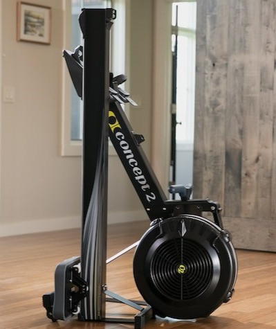 an image of the concept two indoor rowing machine