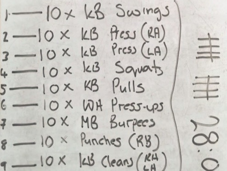 1000 Repetition Circuit! Have You Got What It Takes?