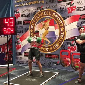 4000 reps, 153,000kg lifted: A Week in The Life of a Kettlebell Competitor