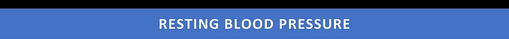 content banner: resting blood pressure