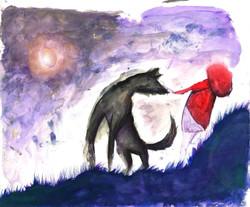 lupo e la carezza
