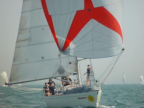 Sigmagician Sigma 38 Sailing in Solent