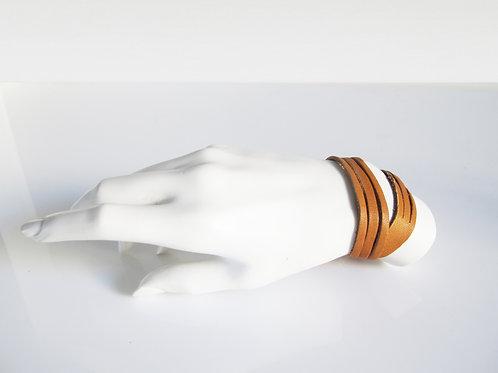 Camel Leather Bracelet