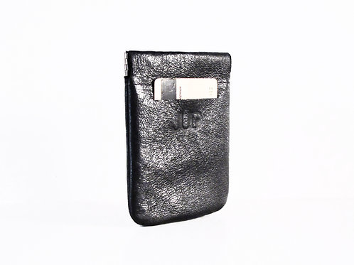 Black Leather Pocket Wallet