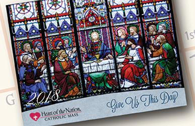 Free Catholic Art Calendar