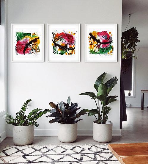 Organic Series Abstract