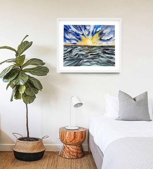 Seascape Waves - Original SOLD