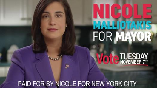 Nicole Malliotakis For Mayor NYC