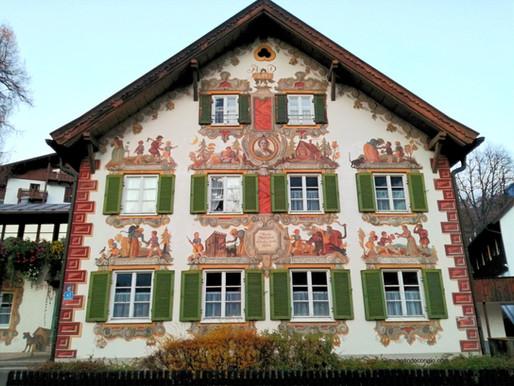 Oberammergau e le sue case dipinte