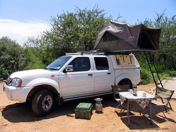 Auto campeggio Namibia