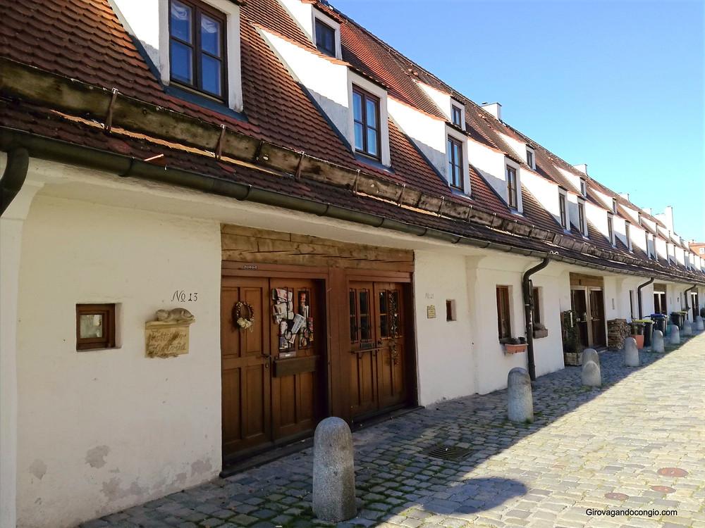 Landsberg am Lech  - magazzini del sale
