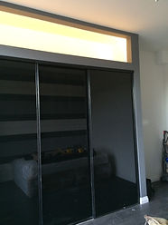 sliding wardrobes fitted by APS