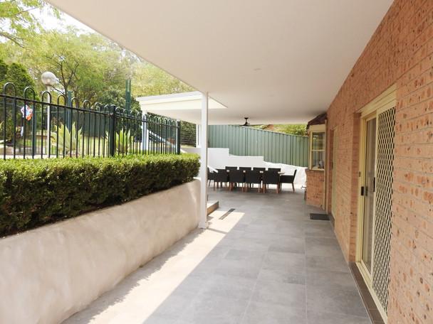 Baulkham Hills Backyard Patio