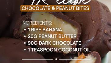 Chocolate & Peanut Bites Recipe