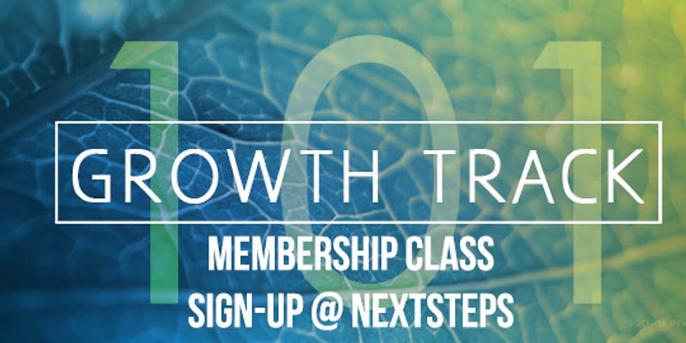 Growth Track 101- Church Membership Class