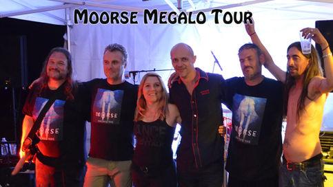 """"""" MOORSE- MEGALO TOUR """" 2018 Tournée du 19 au 23 Juillet, dans l'est de la France ."""