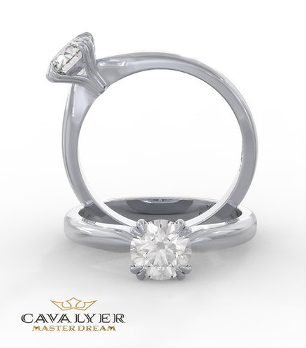 טבעת סוליטרCLS9