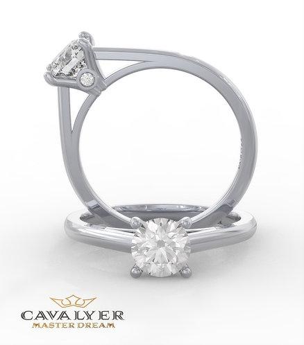 טבעת סוליטר CLS10