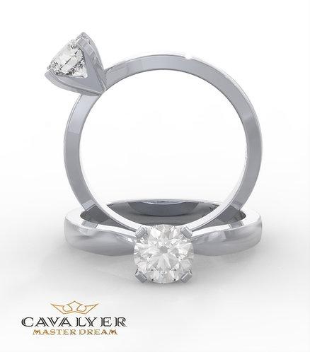 טבעת סוליטר CLS5