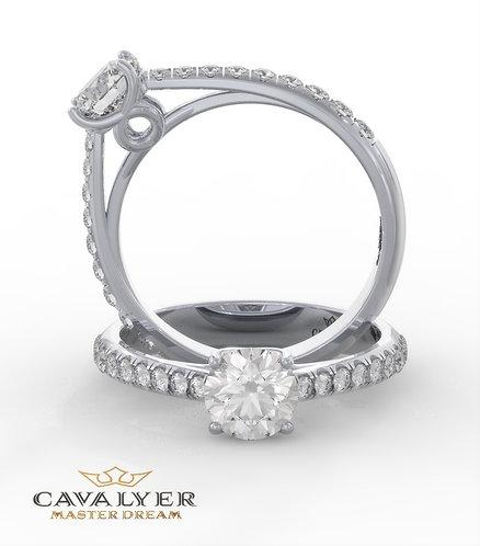 טבעת סוליטר 1CLS