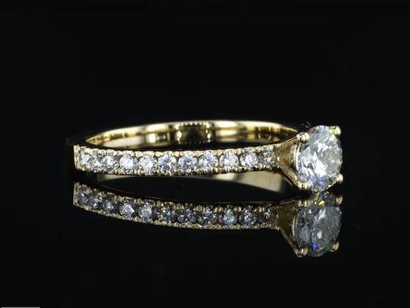 תהליך יצור ועיצוב טבעת יהלום