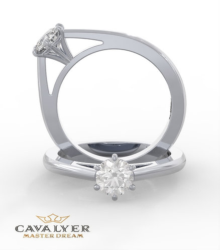 טבעת סוליטר CLS3