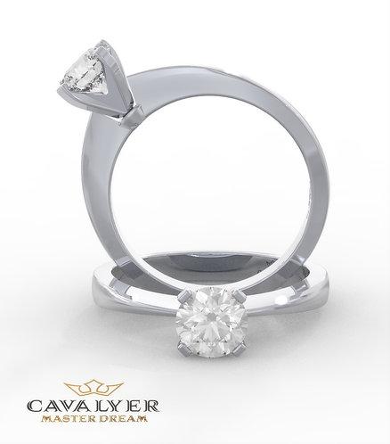 טבעת סוליטר CLS6