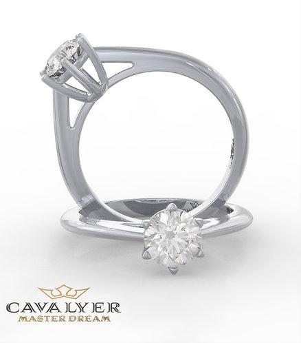 טבעת סוליטר CLS2