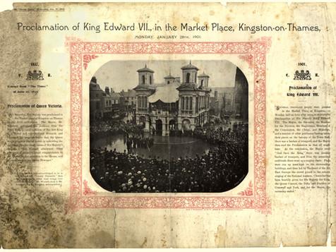 Proclamation of Edward VII - 1901