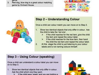 Development of Colour Words
