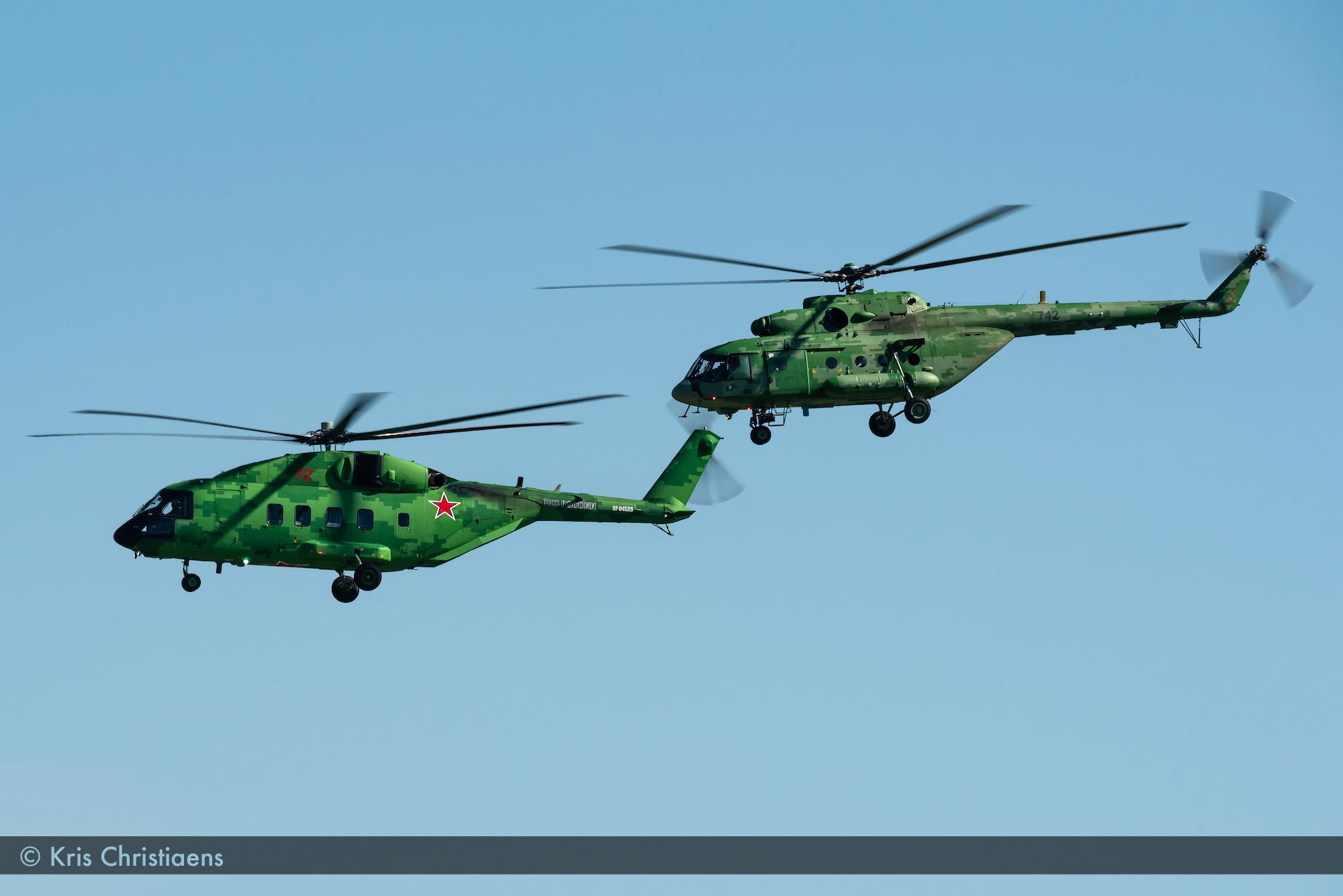 Mil Mi-38T & Mil Mi-8MT