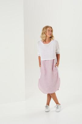 BD7042 Mineral Dress. BD3082 Lucent Top