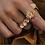 Thumbnail: triple Swarovski ring