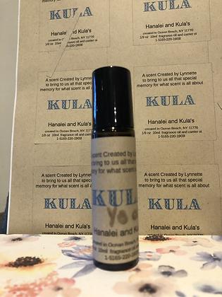 Kula 1/3oz perfume oil in roller bottle