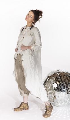 Raw Linen Jacket