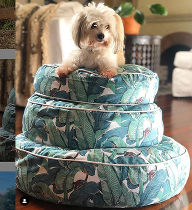 """Banana Leaf Pouf 18"""" (insert not included)"""