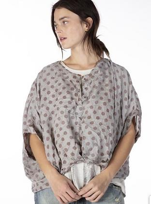 Silk layering blouse