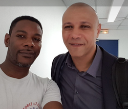 Avec Gilles Cherdieu
