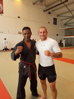 Avec  Loïc Marty