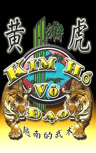 Emblème Flag de l' Ecole Kim Ho Vo Dao
