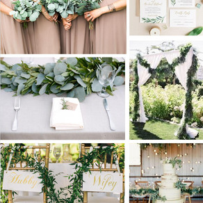 Greenery Inspiration Board