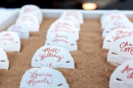 Florida Themed Place cards