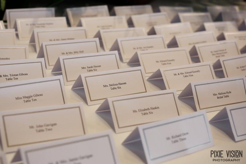 Placecards Wedding