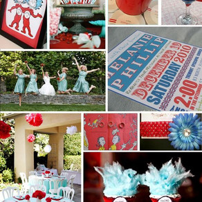 Dr. Seuss Inspiration Board