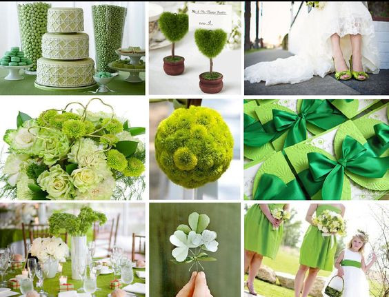 St Patricks Day Wedding