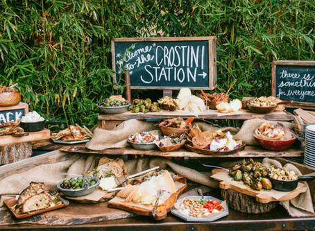 Food Stations Vs. Buffet